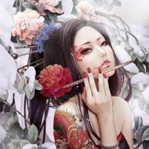 万花丛中一点红,回睦一笑百媚生,古典美人 美不胜收!!