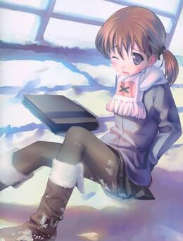 冬季里那些可爱的萝莉动漫美少女图片