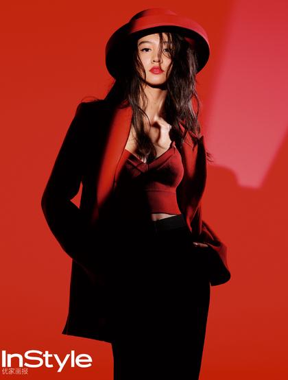 日本女星木村光希《InStyle优家画报》时尚百变杂志写真图片