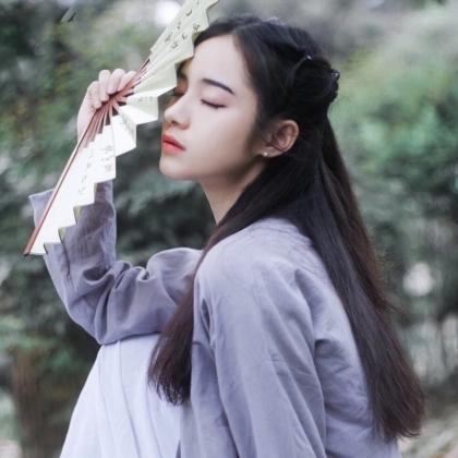 汉服文化美女COS汉服姑娘纯美头像图片