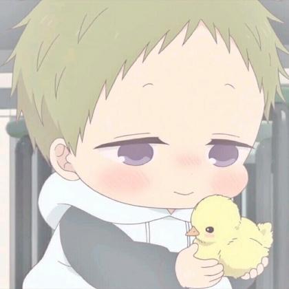 超萌可爱的动漫小男孩撒娇表情头像图片