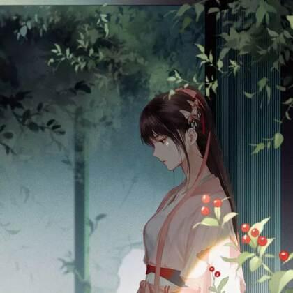 藏在深宫无人知,手绘古装汉服女子唯美图片