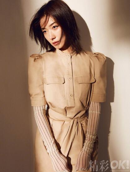 万茜最新杂志写真,不同服饰穿搭,演绎多样时尚魅力