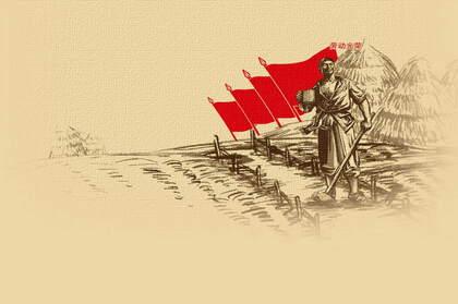 五一劳动节壁纸,怀旧,复古风劳动节文字壁纸图片