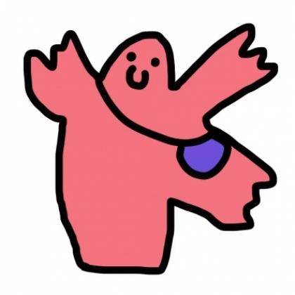 搞笑搞怪 线条不规则 好看又可爱的手绘卡通动物搞怪qq头像图片