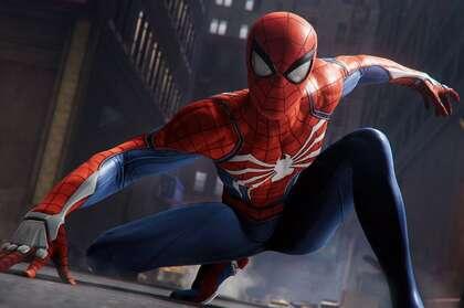 帅气的蜘蛛侠经典动作超酷影视壁纸图片