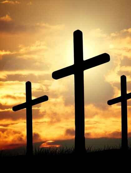 十字架图片,不同大小的不同十字架创意美图