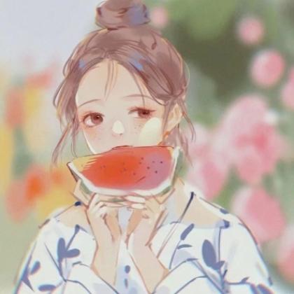 2021款夏日小清新动漫女生头像,可爱呆萌,简单耐看的女生插画头像图片