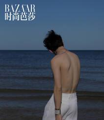井柏然赤裸半身帅气性感海边写真,海浪、黑马相伴 有性感亦文艺!组图9