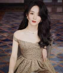 赵丽颖华美浪漫的礼服穿搭优雅性感写真图片