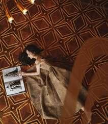 赵丽颖华美浪漫的礼服穿搭优雅性感写真图片组图4