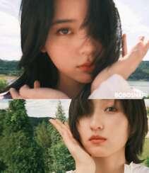欧阳娜娜,张子枫一起拍写真,宛如姐妹闺蜜般亲密无间,青春气息十足组图3