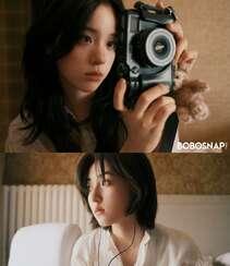 欧阳娜娜,张子枫一起拍写真,宛如姐妹闺蜜般亲密无间,青春气息十足组图5
