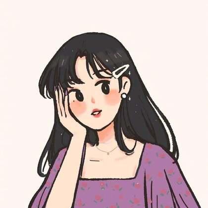 2021最新女生手绘插画头像,理想中的那些善良 可爱,温柔 自信,自律女生头像图片