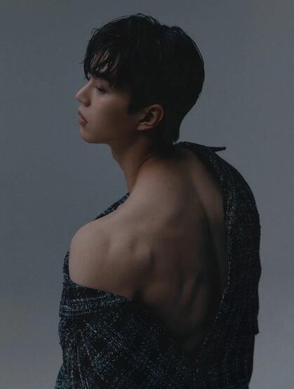 身高186韩国帅气健壮男演员宋江Kang Song精选写真图片集