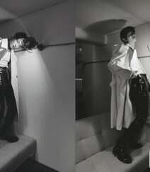 崔然竣帅气杂志图片,男团TXT成员崔然竣清俊少年气质写真照片组图9